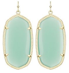 The most popular earring from the #Kendra Scott line, are these Danielle earrings. They are so popular because they a classic design! The elongated design and re...