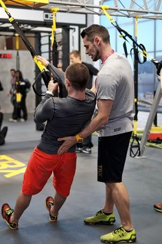 TRX Suspension Training auf der Fibo 2016 in Köln Functional Workout, Fitnesstraining