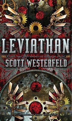 Leviathan, Scott Westerfeld. I'm still crossing my fingers that an influx of Steampunk could replace the vampire trend in YA literature.