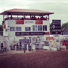 Attend The Daddy of 'Em All - Cheyenne Frontier Days Rodeo.