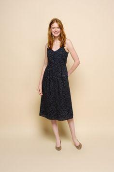Robe rivette etoiles - 100% coton - des petits hauts 1