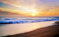 """Soft, sun soaked California sunset. Malibu, California """"Evening's Kiss"""" Photograph by: Aron Kearney"""