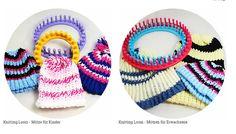Knitting Loom, Strickring, Mütze, Anleitung,  Anfänger , einfach,kostenlos,