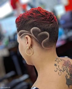 Short Curly Cuts, Natural Hair Short Cuts, Short Natural Haircuts, Funky Short Hair, Natural Hair Styles, Mohawk Hairstyles For Women, Short Black Hairstyles, Hot Hair Styles, Curly Hair Styles