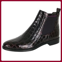 Maripé Ancle Boots Gr. 39,5 echt Leder Schuhe Pumps schwarz