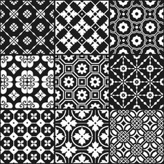 These tiles pretty much speak for themselves and there are heaps of colours to choose from. I am completely and utterly in love! Light Blue on Black: BonTon - Signorino Weaving Patterns, Tile Patterns, Vitromosaico Ideas, Kitchen Benches, Home Reno, Italian Style, Porcelain Tile, Blackwork, Pattern Design