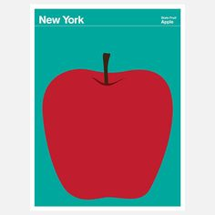 New York print by Julian Montague-frameable now featured on Fab.