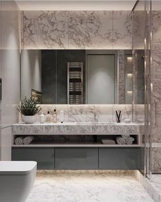 Project WAY-OUT, Moscow . As designers get . Bathroom Design Luxury, Modern Bathroom Design, Home Interior Design, Modern Interior, Wc Design, Toilet Design, Bathroom Design Inspiration, Bathroom Colors, Bathroom Renovations