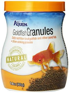 Whether your're feeding common goldfish fancy Orandas or koi Aqueon Goldfish Foods provide a daily diet to meet their nutritional needs. Aqueon foods were developed with premium ingredients and uniq...