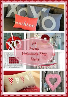 14 Pretty Valentine's Ideas
