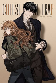 Love this Webtoon! Manga Sexy, Manga Anime, Art Anime, Anime Couples Manga, Manhwa Manga, Cute Anime Couples, Anime Guys, Manga Girl, Cheese In The Trap Webtoon