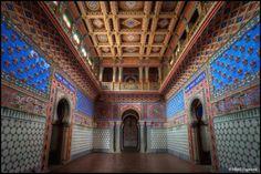 Another shot of the Italian Moorish castle, Castello di Sammezzano.