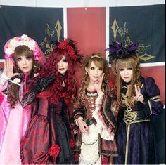 Hizaki, Emiru, Mayu and Machi  Kamijo Frand Final 20th Anniversary