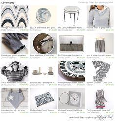 Lovely Grey Treasury