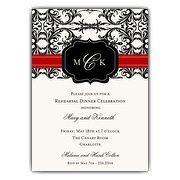 Rehearsal Dinner Invitations   Custom Creations from PaperStyle