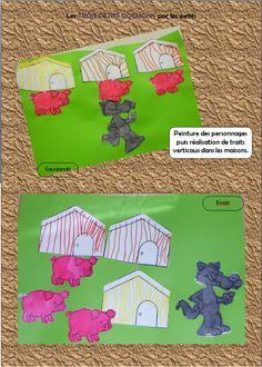 PS - Les Trois Petits Cochons