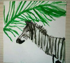 #zebra #watercolor