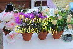 Play dough Garden Centre: Pretend Play - The Imagination Tree This.