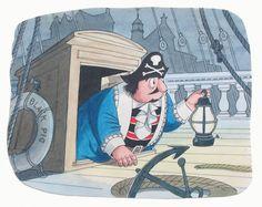 Captain Pugwash 1970s Childhood, Childhood Memories, Animated Icons, Pirate Treasure, Cartoon Tv Shows, Kids Tv, Vintage Tv, Ol Days, Kids Shows