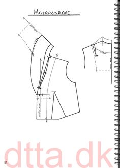 SYSTEM DTTA: PAGE 80 | Tailoring - patternmaking, cutting and sewing | THE DESIGN AND TECHNICAL TAILORING ACADEMY | TILSKÆRERAKADEMIET I KØBENHAVN (KBH)