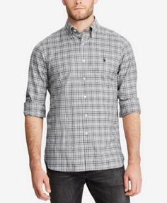 POLO RALPH LAUREN Polo Ralph Lauren Men's Standard-Fit Shirt. #poloralphlauren #cloth #