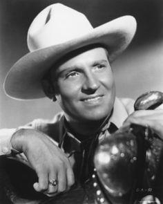 Gene Autry, (born Tioga, Texas, September 29, 1907)