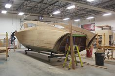 2017 StanCraft 36' Flash EXO - construction moving right along