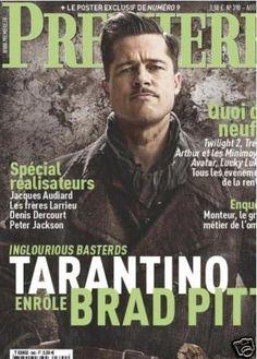 Brad Pitt - Premiere Magazine [France] (August 2009)
