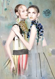 Illustration.Files: Prada S/S 2016 Fashion Illustration by Anca