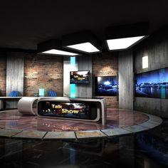 talk show stage design - Recherche Google