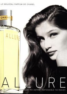 Allure by Chanel with Laetitia Casta (1996).