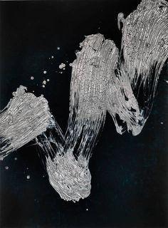 Fabienne Verdier - Contemporary Artist - L'art de la calligraphie monumentale - Mélodie du réel 6 - 2014
