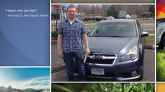 Dear Nicholas Deluca   A heartfelt thank you for the purchase of your new Subaru from all of us at Premier Subaru.   We're proud to have you as part of the Subaru Family.