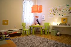 Montessori inspired kids' rooms from The Boo and the Boy