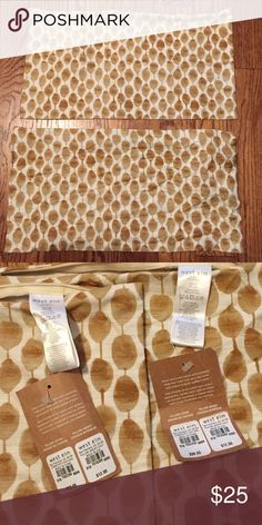 """West elm NWT pillow covers 2 new w/ tags west elm pillow covers. 12""""w x 21""""l. 100% silk. Retails for $39 each. Selling both for $25 or best offer. (Does not come with pillow insert) can be bought on west elm's website. west elm Accessories"""