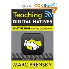 """Read """"Teaching Digital Natives Partnering for Real Learning"""" by Marc R. Prensky available from Rakuten Kobo. Prensky presents a model for teaching and learning, in which students become learners and creators of knowl. Digital Technology, Educational Technology, Cult Of Pedagogy, Economics Books, Summer Books, Digital Literacy, Digital Citizenship, Technology Integration, Blended Learning"""