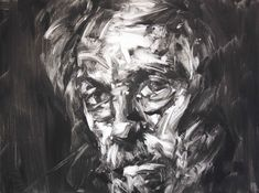 Paul Wright—Suspicious Mind Contemporary Male Portraits Paul Wright Printmaking: Monotype on Paper Abstract Portrait, Abstract Oil, Portrait Art, Portraits, Paul Wright, Jackson's Art, Acrylic Wall Art, A Level Art, Mark Making