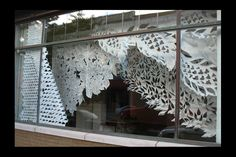 :: celeste cooning's cut paper installations :: wow!