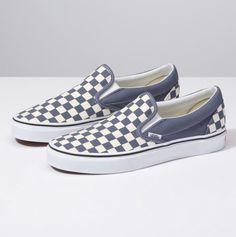 28bb0082f43 Checkerboard Slip-On. Cute ShoesSock ShoesVans ...
