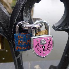 Love Locks on Charles Bridge (Prague, Czech Republic)