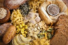 """The Plan to Cut Back on Carbs: Use this plan from Dr. Kellyann Petrucci to successfully cut carbs without suffering from the """"low-carb flu""""! Carbohydrate Counter, Low Carbohydrate Diet, Low Carb Flu, Counting Carbs, Good Carbs, Fiber Rich Foods, Nutrition, Gluten Free Diet, Weight Gain"""