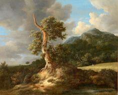 Jacob van Ruisdael – elsewhere Landscape Art, Landscape Paintings, Amsterdam, Dutch Golden Age, Dutch Painters, Felder, Famous Art, Oak Tree, Old Master