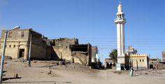 Древнеегипетский город Абидос Cn Tower, Building, Travel, Viajes, Buildings, Destinations, Traveling, Trips, Construction