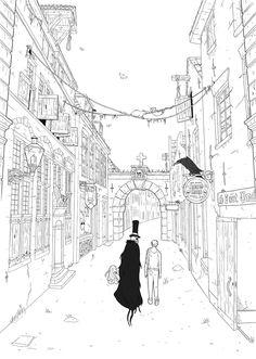 "Preview ""Joytown"" by Edouard Relou www.edouardrelou.eu"