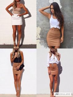How to wear your Kookaï basic & look hot!  Skirt Edition