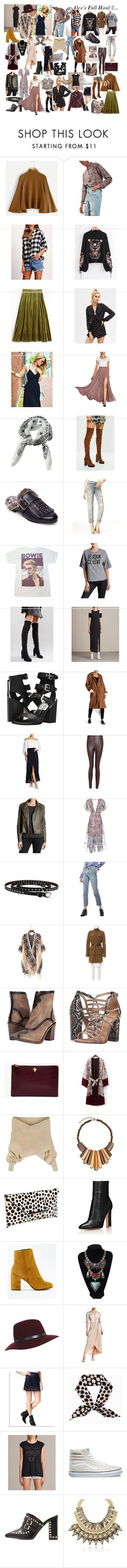 """Alex Fall Haul 2..."" by charlotteanndove on Polyvore featuring Topshop, Missguided, Design Lab, Sundry, Daisy Street, AllSaints, Dolce Vita, endless rose, Free Press and Schutz"