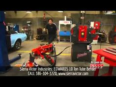 ORDER TODAY from Sierra Victor Industries: 10 Ton EDWARDS® Pipe / Tube Bender.  CALL 386-304-3720 FOR BEST DEAL! For more information, Visit http://sierravictor.com/index.php?dispatch=products.view&product_id=539