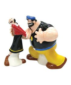 Take a look at this Olive Oyl & Brutus Salt & Pepper Shakers by Westland Giftware on #zulily today! $10 !!