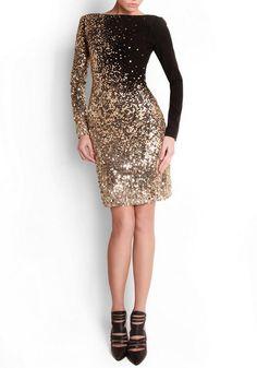 Glitter Dress / Georges Hobeika