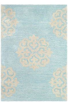 $5 Off when you share! Safavieh Soho SOH724 TURQUOISE YELLOW Rug